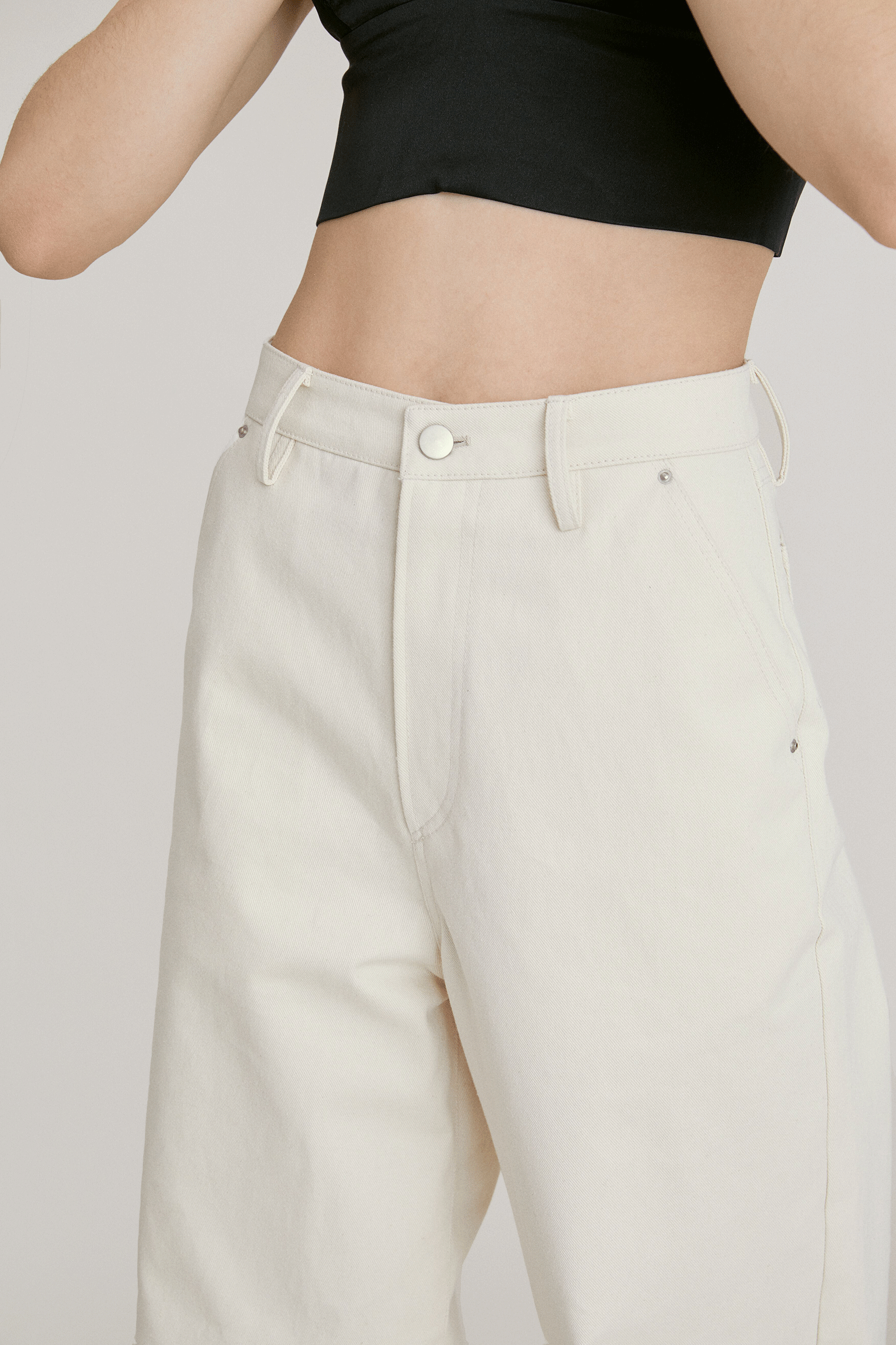 Wide Pants_CREAM