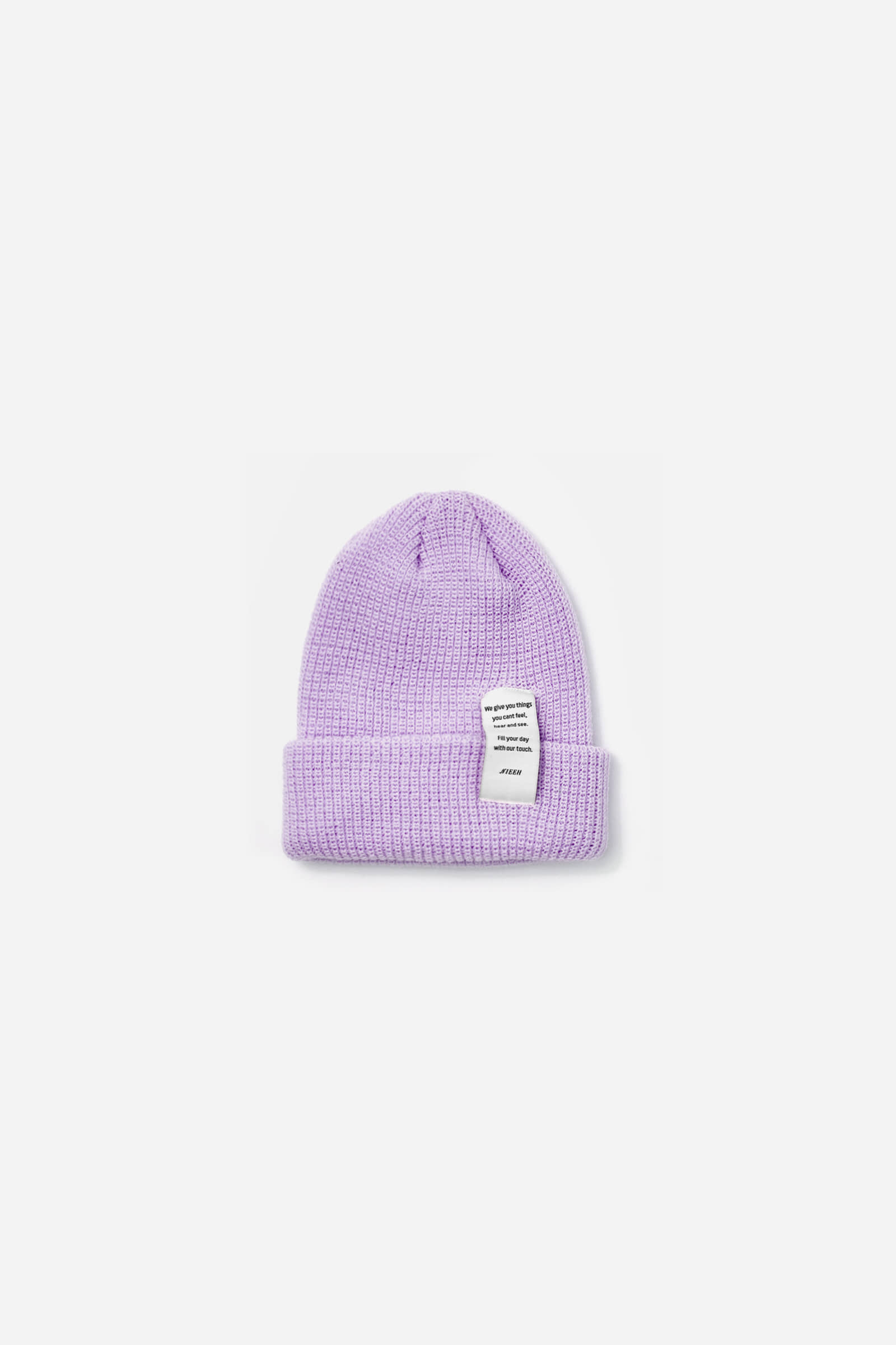 Nieeh Pastel Long Beanie_LIGHT PURPLE