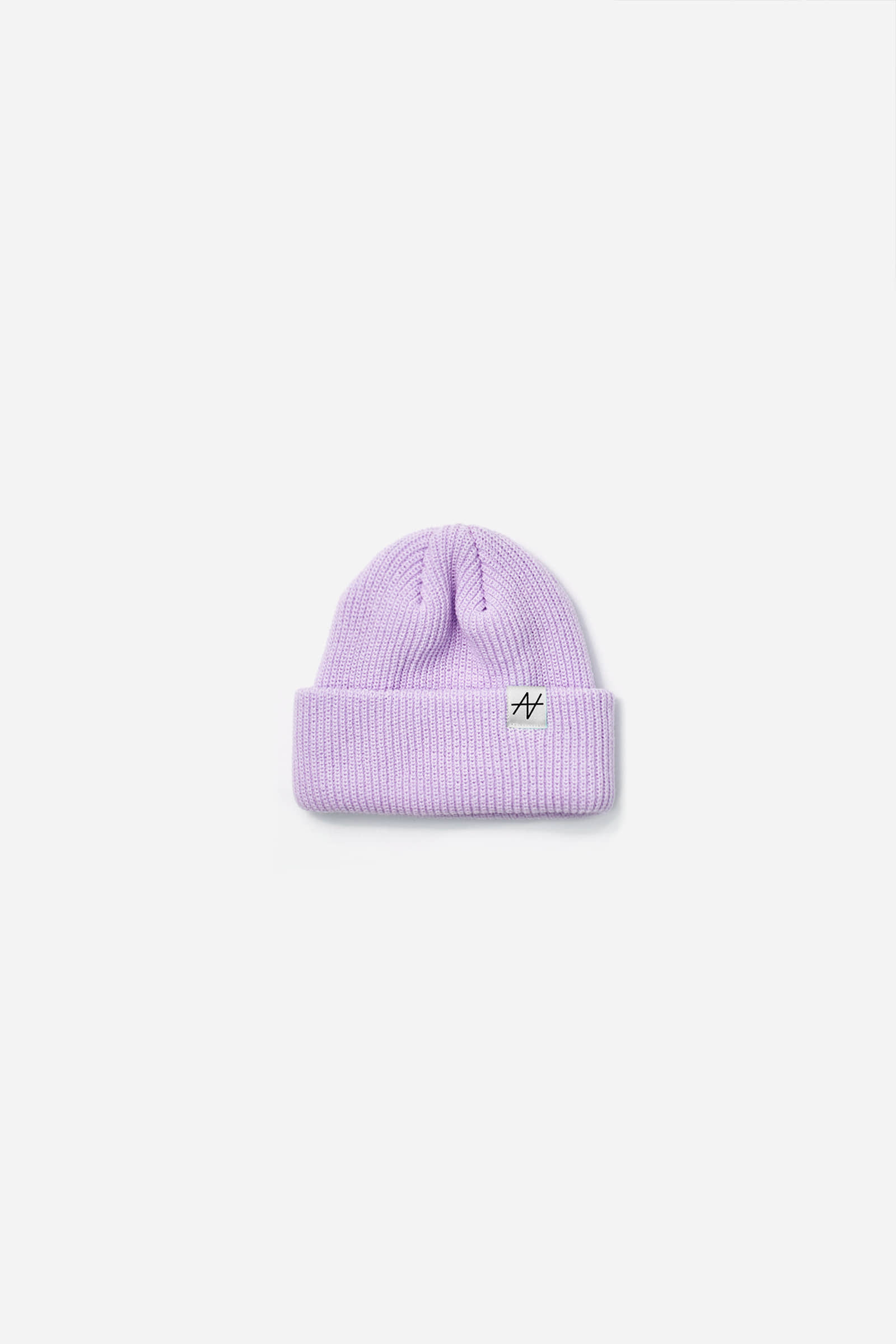 Nieeh Pastel Short Beanie_LIGHT PURPLE