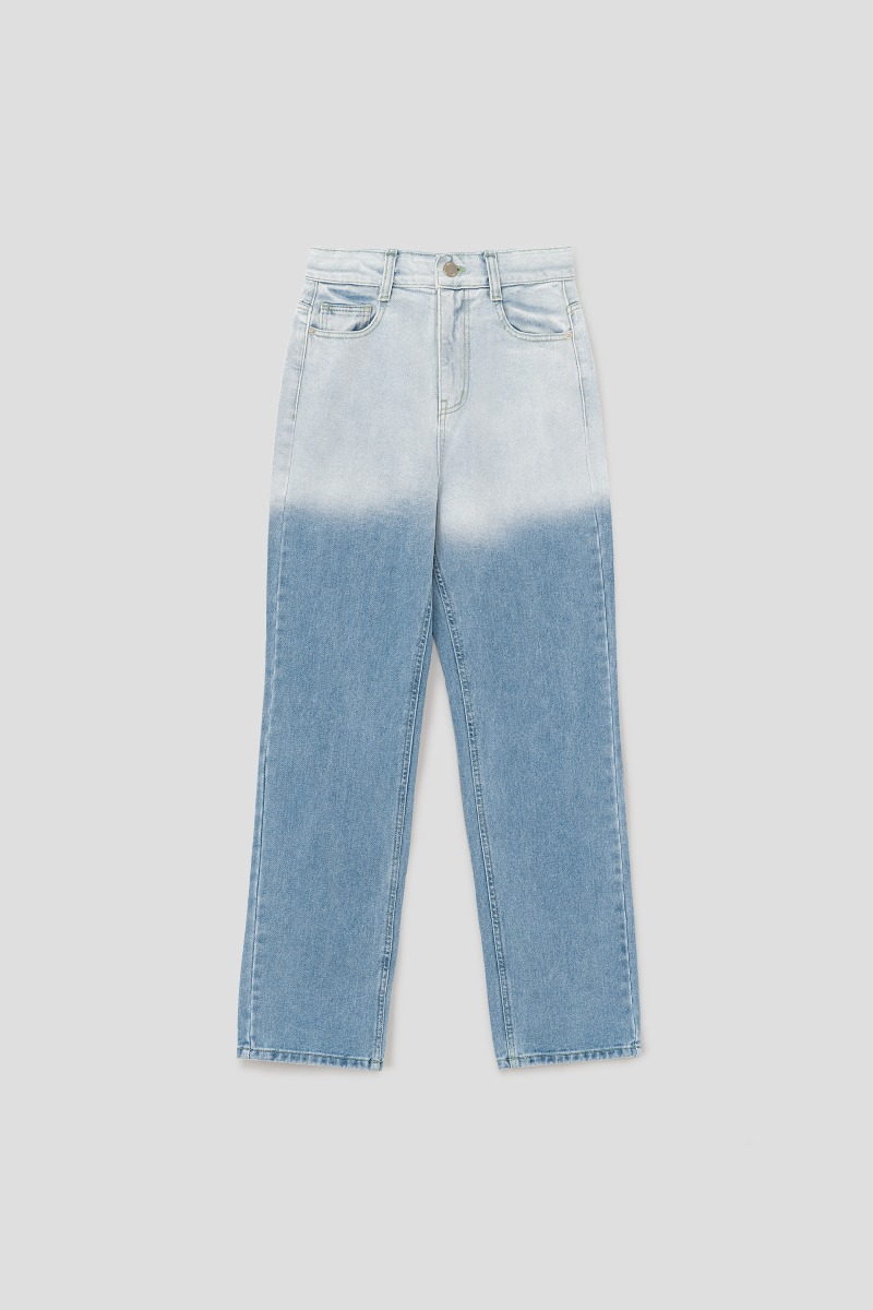 GRADIENT DENIM PANTS