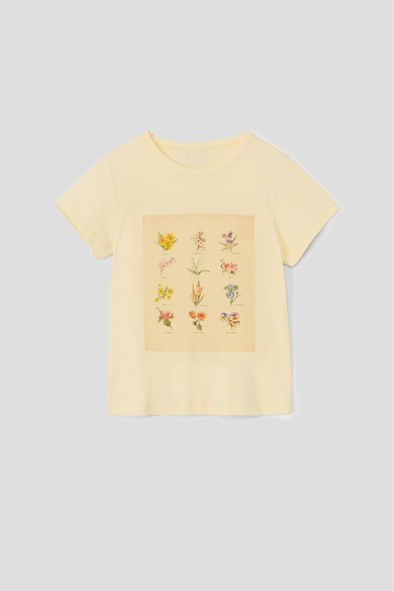BIRTH FLOWER T-SHIRTS